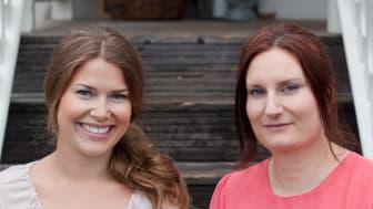 "Jessica Frej och Maria Blohm - Goda och glutenfria tårtor i nya kokboksappen ""Cook & Bake Gluten Free"""
