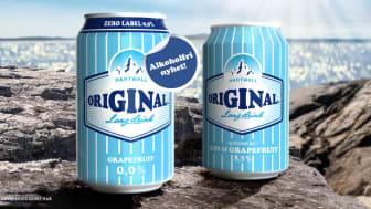 Hartwall Original Long Drink 0,0%  - senaste tillskottet på den alkoholfria hyllan