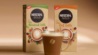 Nå kommer plantebasert instant café latte til Norge