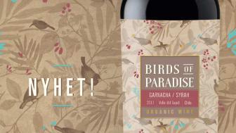 Nyhet! Birds of Paradise Garnacha Syrah