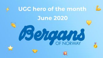 ​UGC hero of the month – June 2020: Bergans of Norway