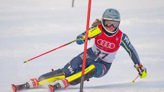 Hanna Aronsson Elfman en av tio åkare som i dag fick klartecken att åka till världsungdoms-OS i Lausanne. Foto: Erik Segerström/SSF.
