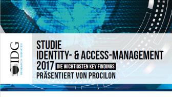 Identity Access Management Studie von IDG Research Services in Zusammenarbeit mit procilon, München 2017