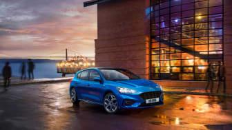 Nya Ford Focus är helt nyutvecklad från bottenplattan och upp.