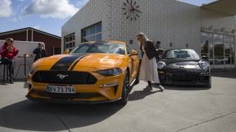 Ford Mustang til Supercar Sunday