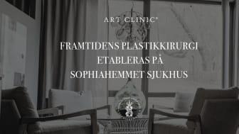 Framtidens plastikkirurgi etableras på Sophiahemmet Sjukhus