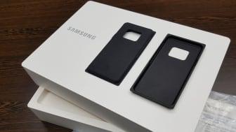 Samsungs emballage bliver mere miljøvenlig