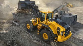 Inget jobb är för litet för Volvo H-seriens hjullastare L150H, L180H och L220H