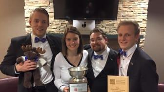 JIBS-lag vann VM i familjeföretagande
