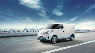 Eltransportbilen Maxus e-Deliver 3.