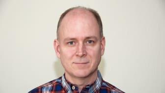 Johan Möller, UR:s nya chef för digitala utvecklingsavdelningen. Foto: Privat