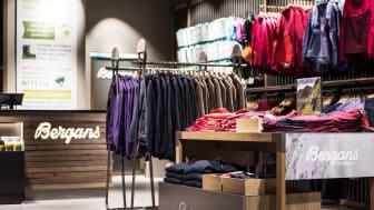 NYE BUTIKKER: Bergen og Trømsø får Bergans-butikker. Bildet er hentet fra Bergans' brand store på Ski Storsenter. Foto: Bergans – Hans Kristian Krogh Hanssen.