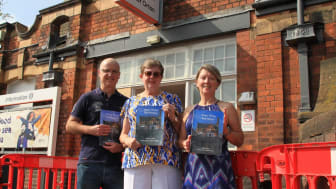 Patrick Fleming, Judith Cleaver and Judy Macdonald from the Water Orton Community Action Group