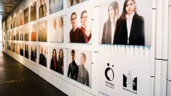 Signaturutställningen för Öppna Malmö. Foto: Erik Leo, Malmö stad