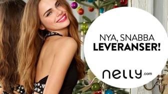 Nelly.com lanserar expressleveranser hem till dörren