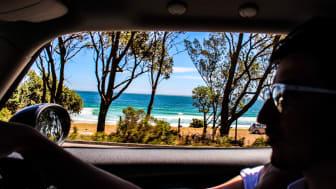 Fler väljer bilen till sommarens semester