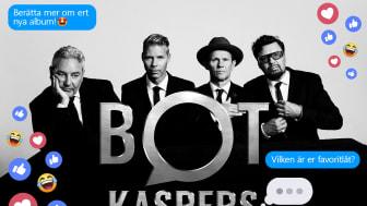 Sony Music lanserar Sveriges första artist-chatbot; Bot Kaspers!