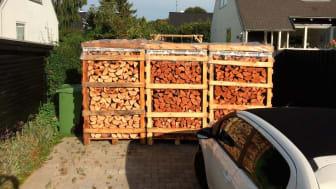 Brændeovne dækker varmeforbruget i næsten 400.000 boliger