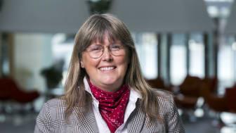 Britta Permats, VD, Svensk Ventilation, berättar att Svensk Ventilation kommer satsa på en stor inneklimatarena till Nordbygg 2020 (Foto:Svensk Ventilation)