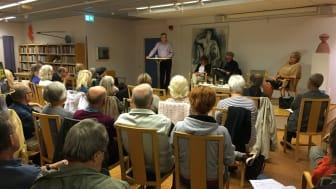 Nätverket Lindekultur höll i september 2016 dialogmöte om det kulturpolitiska programmet.