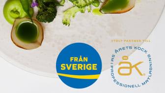 Från Sverige är stolt partner till Årets Kock 2019. Träffa oss vid finalen den 12-13 september.