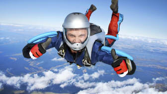 Skydiving is never plane sailing
