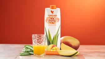 Hett efterlängtade nykomlingen Forever Aloe Mango.
