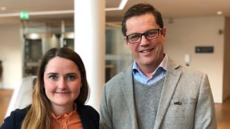 Christine Andersson, Affärsrådgivare och Agronom på LRF Konsult och Ulf Möller, segmentsansvarig Skog & Lantbruk på Swedbank och Sparbankerna.