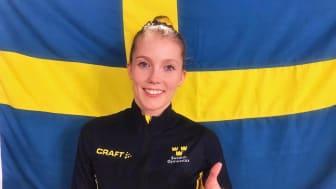 Lina Sjöberg tar 2019 VM-guld för andra året i rad