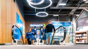 Gigantti investoi myymäläverkostonsa kehittämiseen. Ketjun myymälä Forumin kauppakeskuksessa Helsingissä on uudistettu palvelemaan asiakkaiden tarpeita entistäkin paremmin.