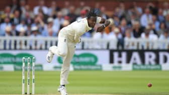 England fast bowler Jofra Archer in action during his debut at Lord's in the second Specsavers Ashes Test has been awarded a Test and White ball contract for the first time. (Getty Images)