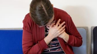 Kvinnor drabbas snabbare än män av en andra hjärtinfarkt.