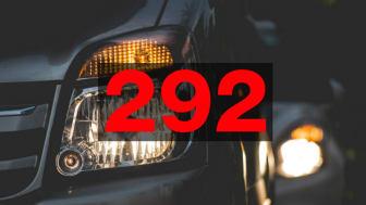 E6 mellan Vellinge och Helsingborg drabbades av 292 olyckor under 2017.