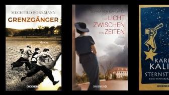 Die Suche nach Gerechtigkeit und Vergebung, die Auseinandersetzung mit der eigenen Familie und der Glaube an ein Wunder: Drei besondere Romane im Droemer Verlag.