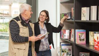 Toppresultat för biblioteket i Vallentuna Kulturhus