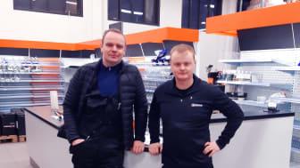 Foto (fr. v.) Gunnar Örn Hjartarson och Leon Hafsteinsson.