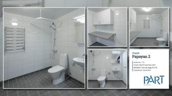 Referensrum Papayan 2 - 1 av 115 badrum