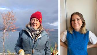 Fr v: Mina från Abisko och Emiline från Lund är två av de tusentals som engagerat sig i The Hunger Projects kampanj mot barnäktenskap.