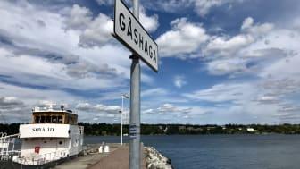Gåshaga Marina på Lidingö