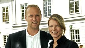 Fredrik & Catharina von Otter, ägare av Västanå Slott i Gränna