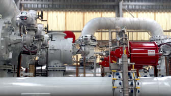 Rotork IQ3 and CP actuators controlling the flow of oil and gas from the FPSO to the metering system.