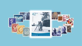 Karusellen viser eksempler på frimerker Posten har gitt ut siden 1855.