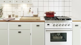 Banér køkken i perlegrøn.