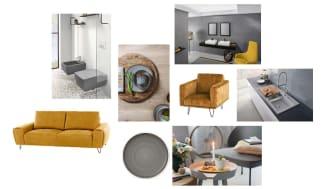 Pantone kürt Grau und Gelb zu den Farben des Jahres 2021