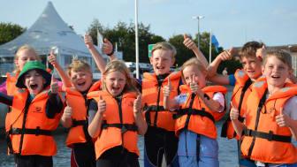 Die Kinder freuen sich: Das Camp 24/7 eröffnet zum Pfingstwochenende