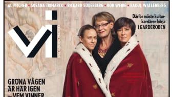 """Tidningen Vi nr 6/2012: Maria Wetterstrand (MP): """"Jag är miljöpartist mycket mer än jag är kvinna"""""""