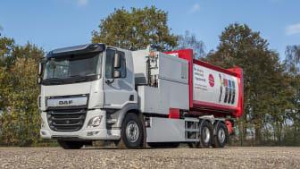 DAF Trucks introducerar sin CF Electric med 6x2 chassi. De första fordonen kommer snart att testas i fältet.