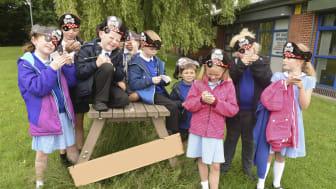 Pirates pinch puzzles in Bury'd Treasure hunt
