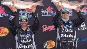 Team Suzuki Repower's Captain Travis Yaeckel and his partner Josh Corr