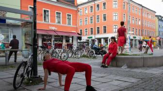 Samtidskuns på Schous plass - BodyCartography Project